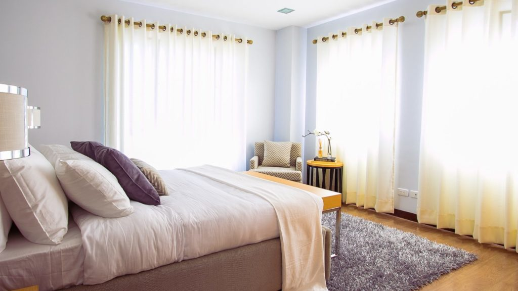 Beautiful bedroom suitable for senior and elderly