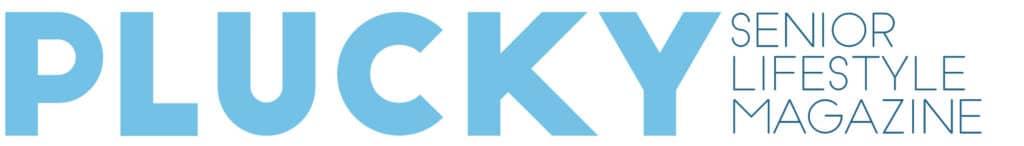 logo for Plucky Senior Lifestyle Magazine