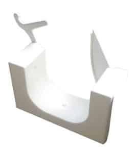 door for walk-in tub conversion kit, open