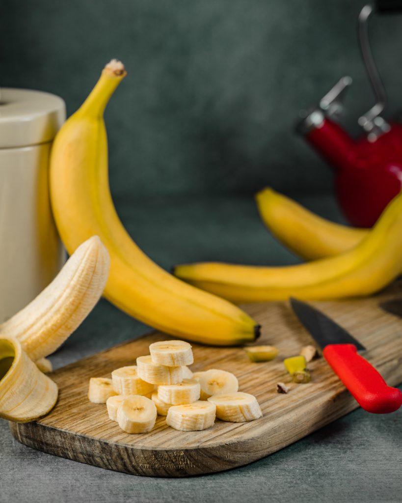 Bananas as a bedtime snack